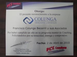 Placa Colunga 1 año (2)
